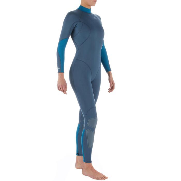 女款3 mm氯丁橡膠(neoprene)水肺防寒衣(背側拉鍊設計)SCD 100