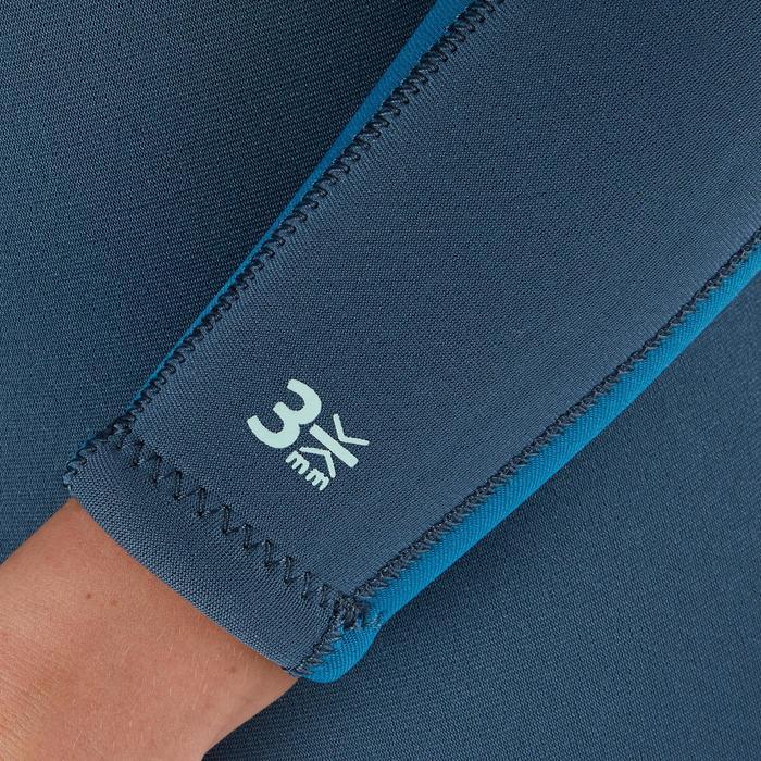 Women's Scuba Diving 3mm Neoprene Back Zip Wetsuit SCD 100
