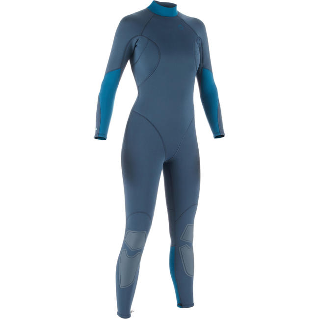 Women's Scuba Diving Wetsuit SCD 100 Back Zip