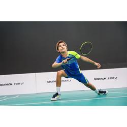 Badmintonschuhe BS 500 Kinder weiß/gelb