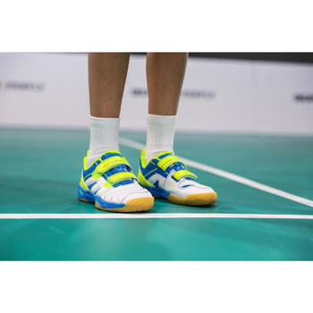 Badmintonschuhe BS 560 Lite Kinder grün
