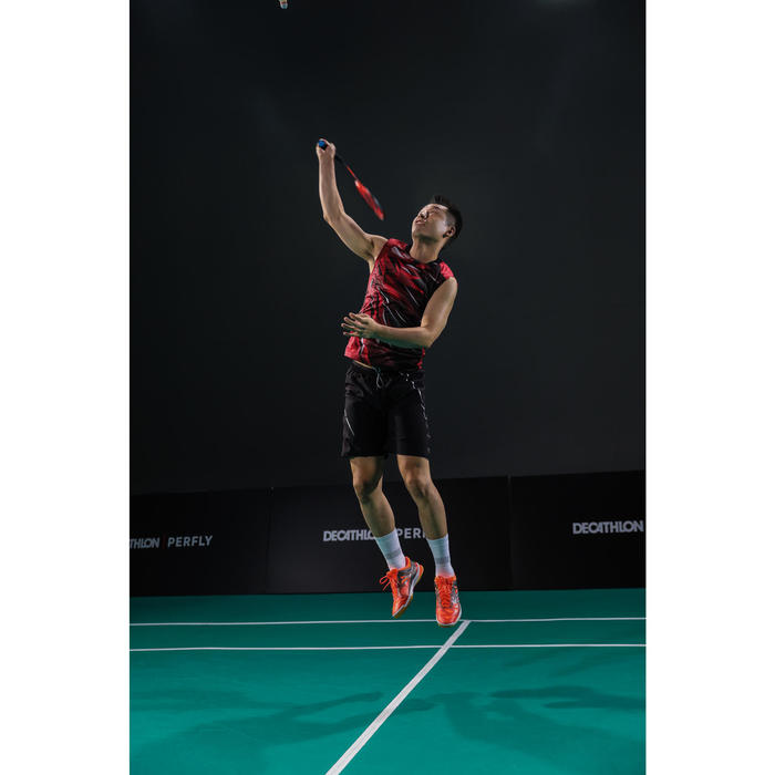 Badmintonshirt voor heren 990 rood