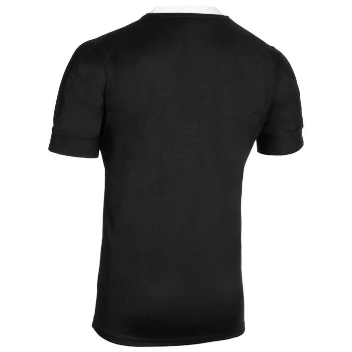 Maillot de rugby replica All Blacks domicile adulte noire