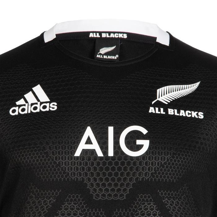 official photos e9fb5 b66c7 Maillot de rugby replica All Blacks domicile adulte noire 2019