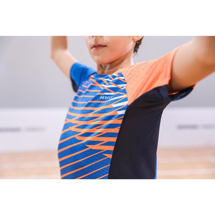 Raquette De Badminton junior BR 100 - Bleu/Orange