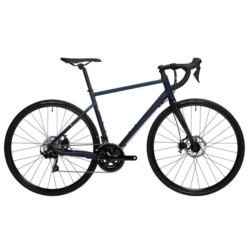 700C RC 520 Aluminium Road Bike - Navy blue