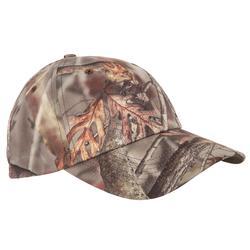 狩獵帽ACTIKAM 100-棕色迷彩