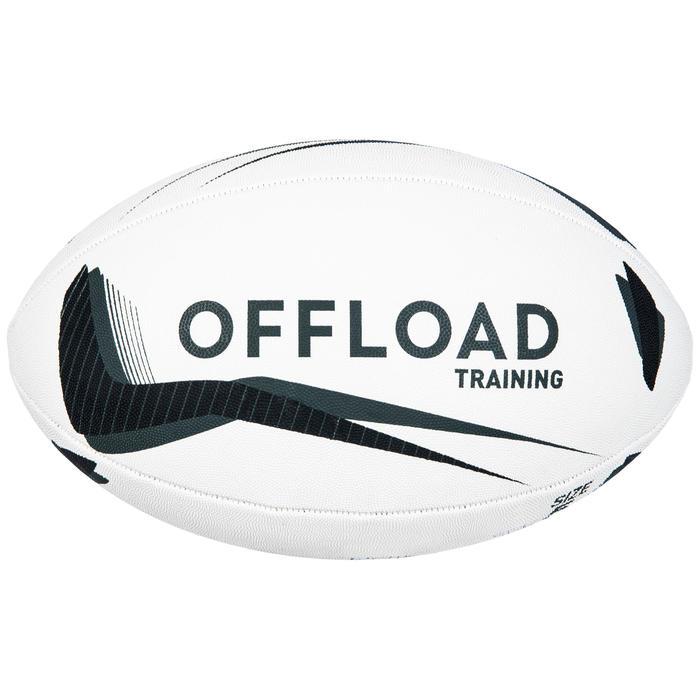 Ballon de rugby R300 taille 5 noir