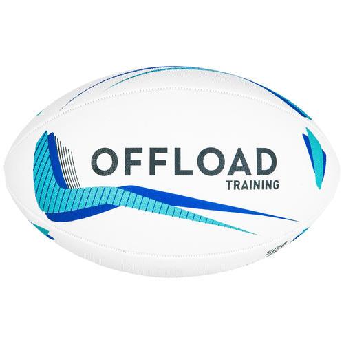 Ballon de rugby R300 taille 4 bleu