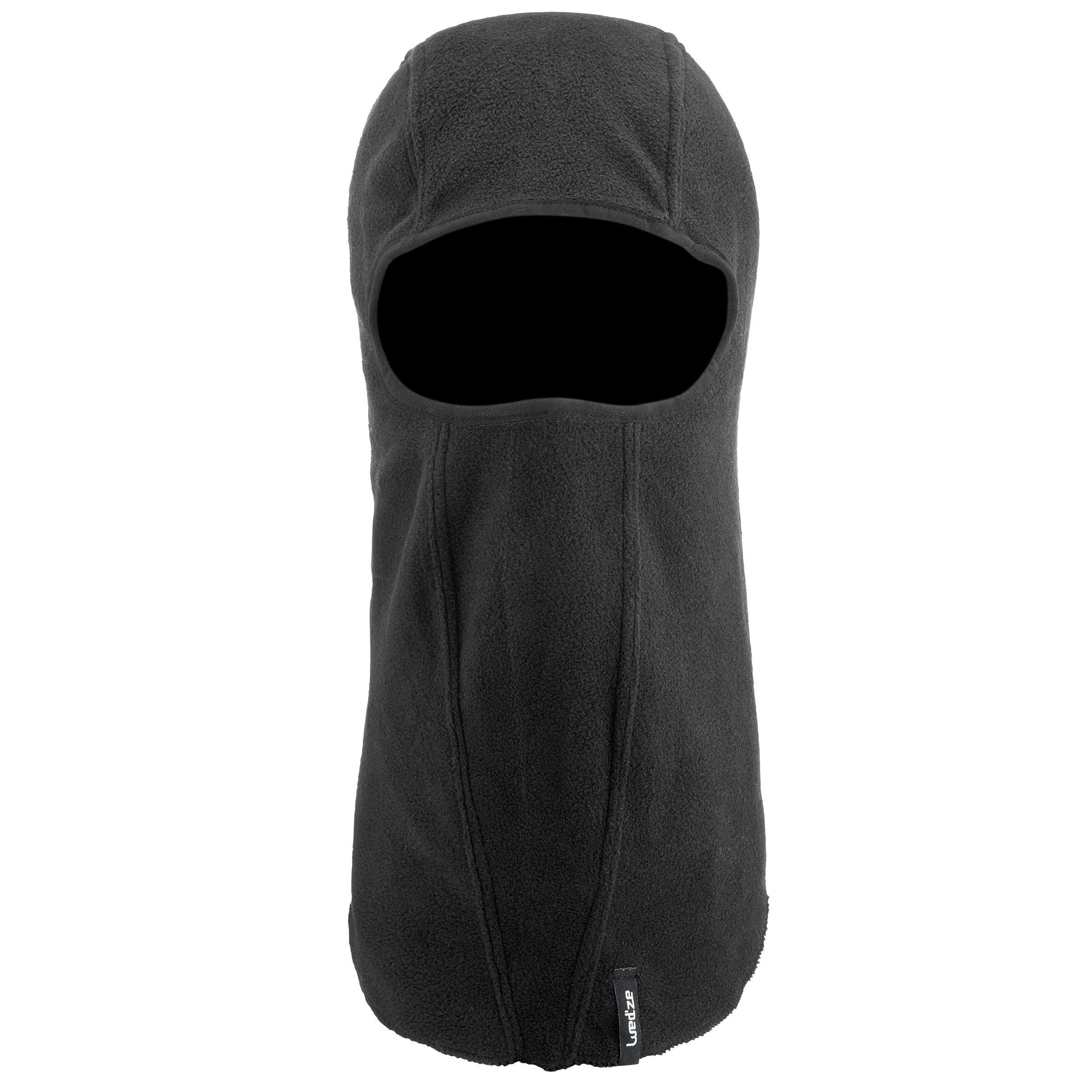 ADULT FLEECE SKI BALACLAVA BLACK