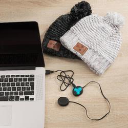 Skimütze Bluetooth Erwachsene weiß