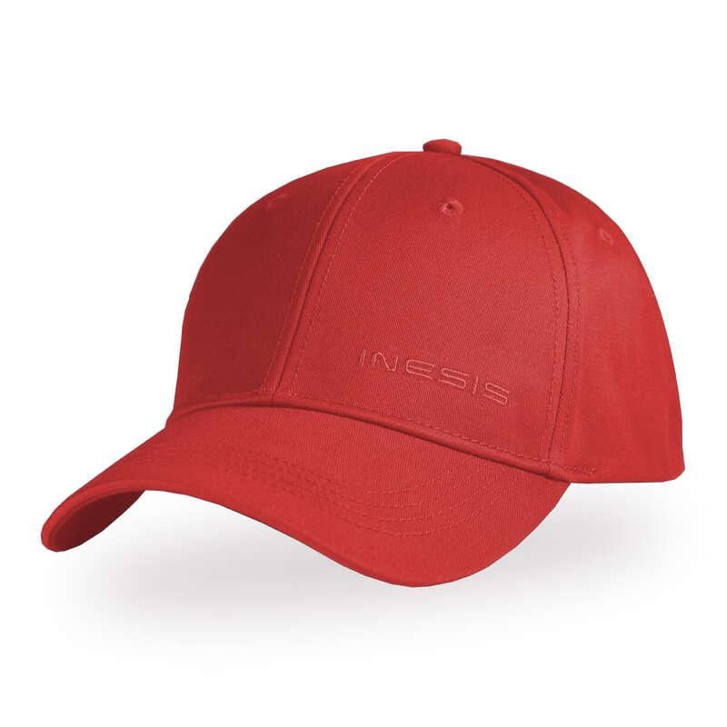 FÉRFI GOLFRUHÁZAT ENYHE ID#RE Ruházati kiegészítők - Ellenzős golfsapka INESIS - Ruházati kiegészítők
