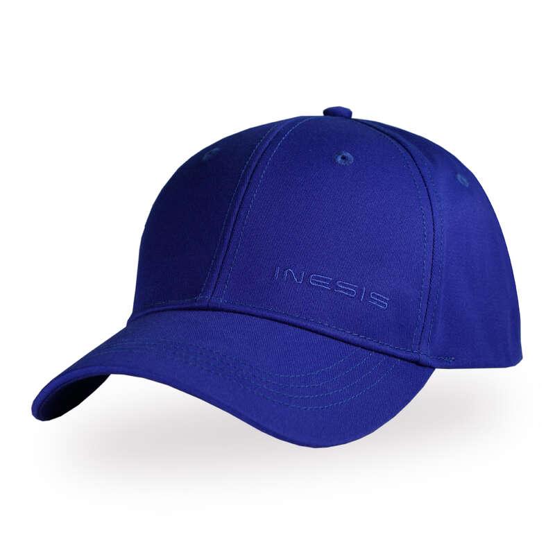 ODZIEŻ DO GOLFA MĘSKA UMIARKOWANA TEMP. Golf - Czapka z daszkiem niebieska INESIS - Odzież i obuwie do golfa