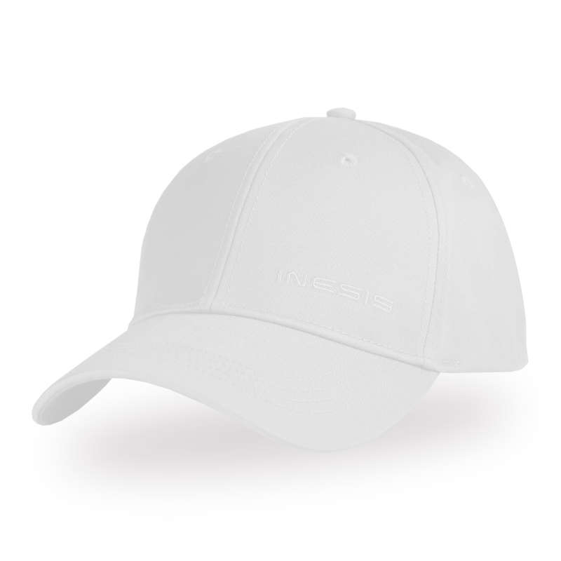 MENS MILD WEATHER GOLF CLOTHING Golf - MW Cap - White INESIS - Golf Clothing