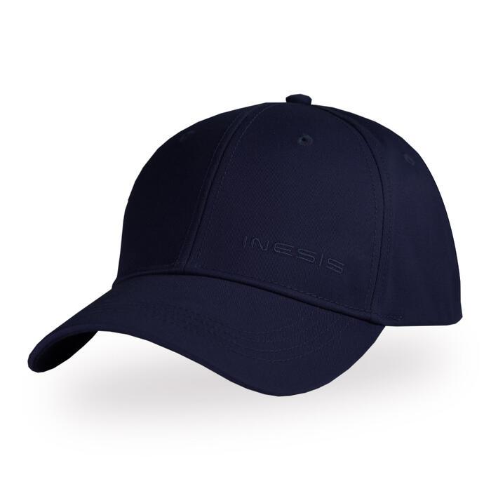 成人款溫和氣候高爾夫球帽-軍藍色