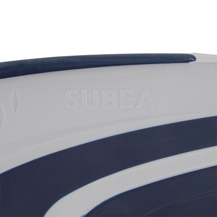 Tauchflossen verstellbar mit elastischem Riemen SCD 500 OH blau/grau