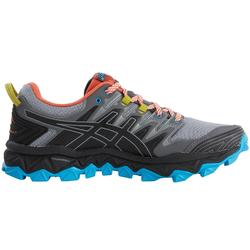 CHAUSSURES TRAIL ASICS GEL FUJITRABUCO 7 HOMME GRIS/BLEU