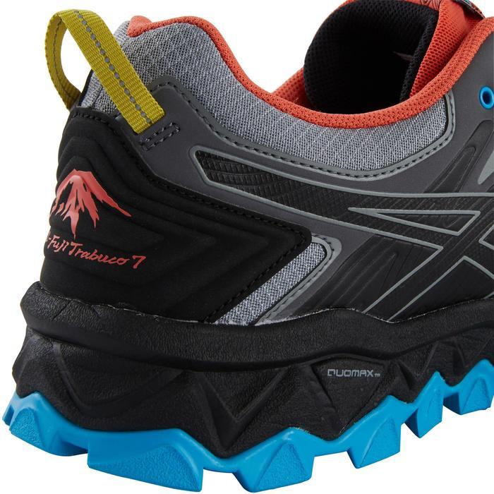 a288dec183e Asics Trailschoenen voor heren Asics Gel-Fuji Trabuco 7 grijs/blauw ...