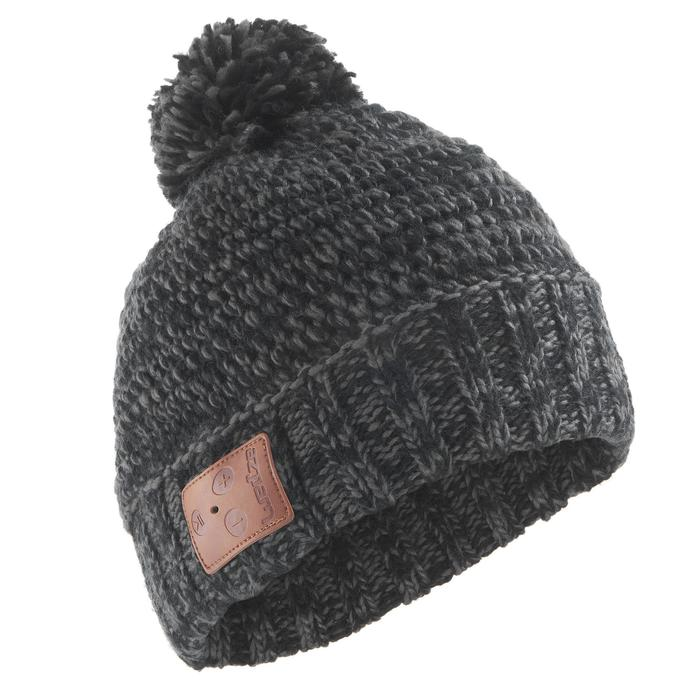 BONNET DE SKI ADULTE BLUETOOTH NOIR