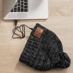Skimuts voor volwassenen Bluetooth zwart