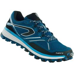 Trailschoenen voor heren Kiprun Trail MT blauw/turkoois