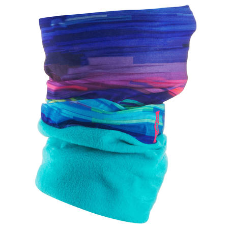 HUG SKI NECKWARMER ADULT MULTICOLOURED LINES