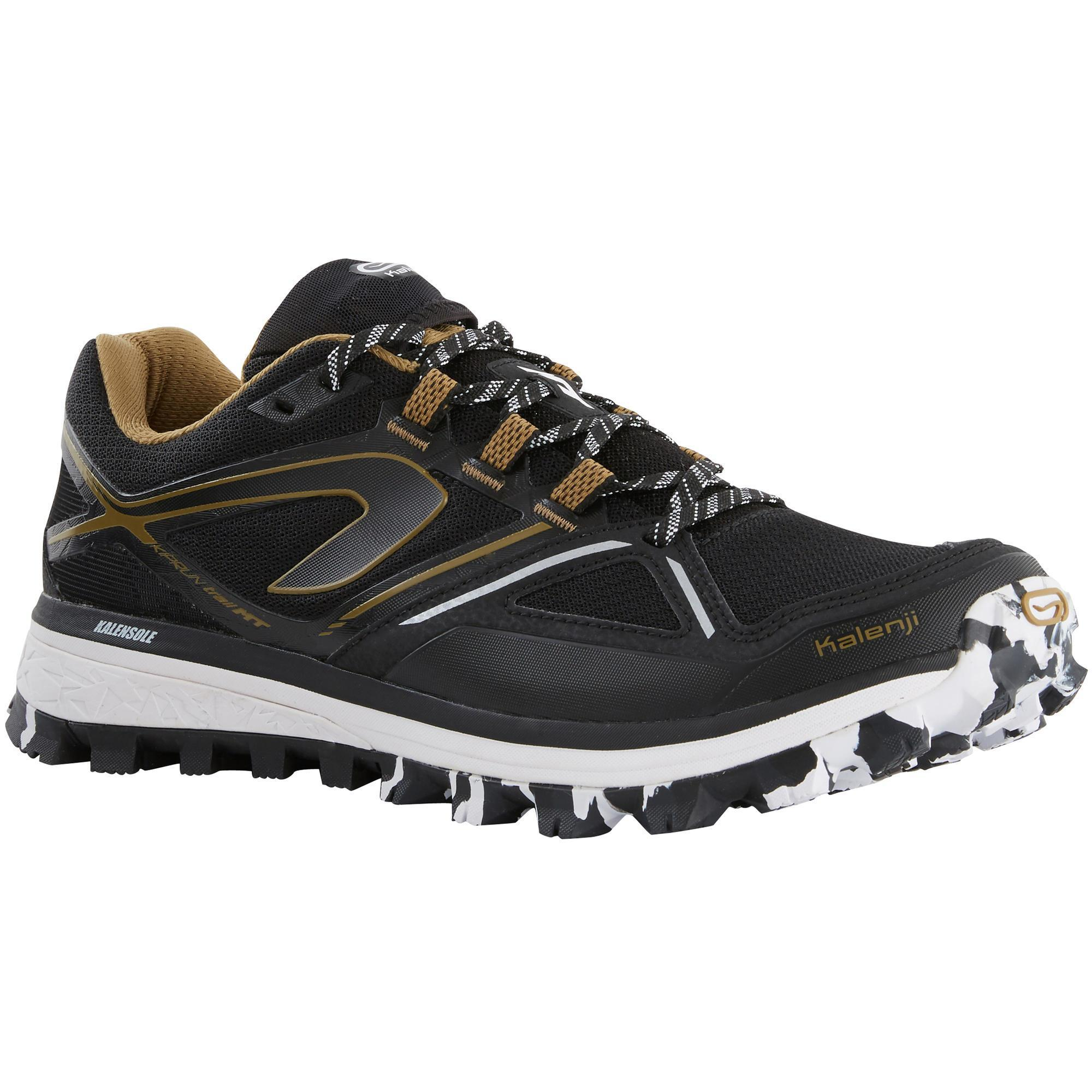TRAIL RUNNING SHOES - BLUE YELLOW