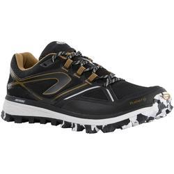 Laufschuhe Trail Kiprun MT Herren schwarz/bronzefarben