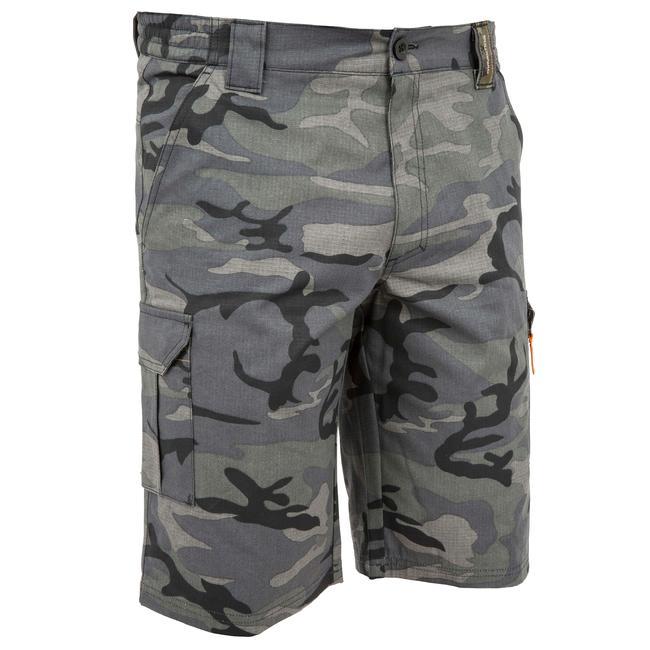 Men's Bermuda Shorts 500 Camo Black