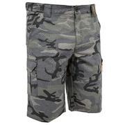 Črne maskirne lovske bermuda kratke hlače 500