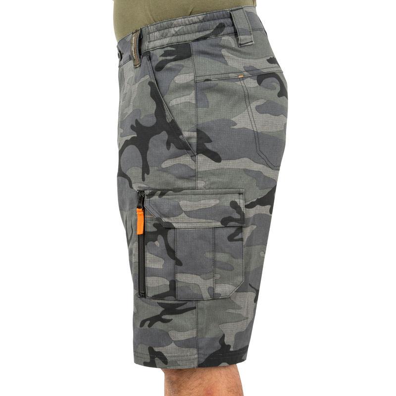 CARGO 500 shorts camouflage woodland black
