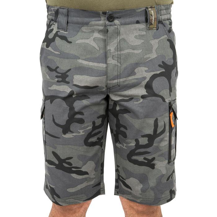 500 Camouflage hunting Bermuda half tone green - 160337
