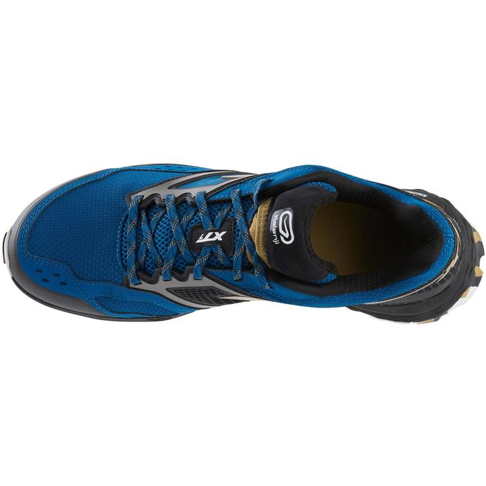 XT7 TRAIL RUNNING SHOES FOR MEN - BLUE/BRONZE