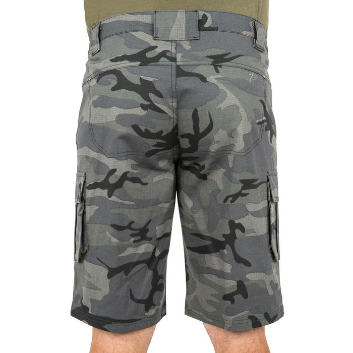 500 Camouflage hunting Bermuda half tone green - 160338