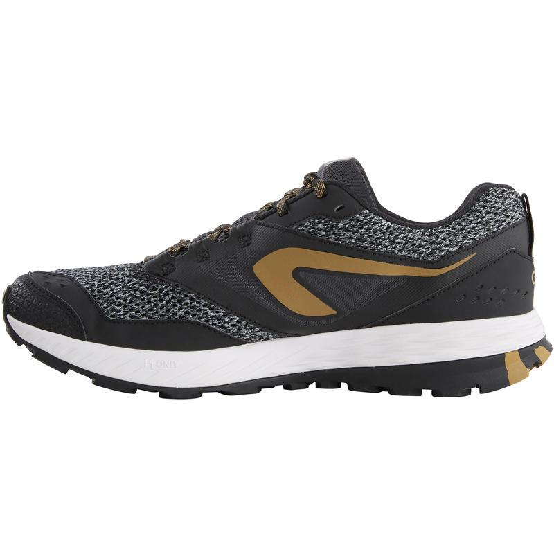 Chaussures de trail running pour homme TR noires et bronze