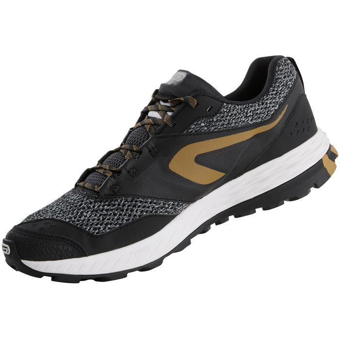 男款野跑鞋TR - 黑色與古銅色