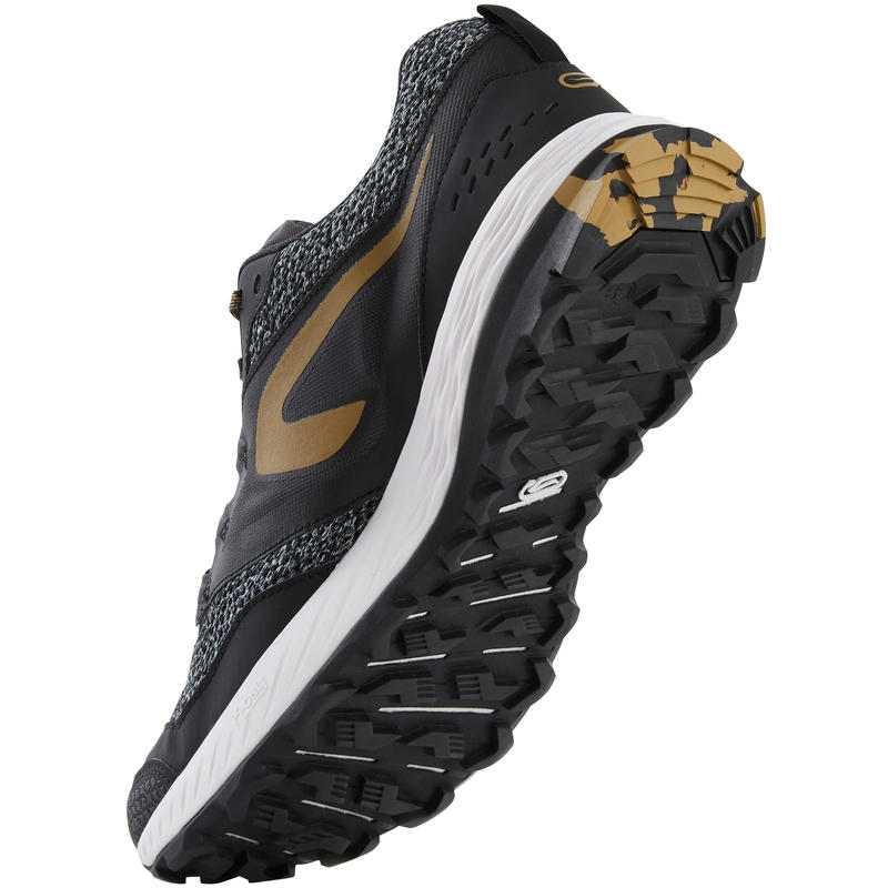 Men's Trail Running Shoes TR - Black and Bronze