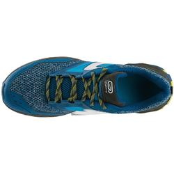 Trailschoenen voor heren TR blauw en geel