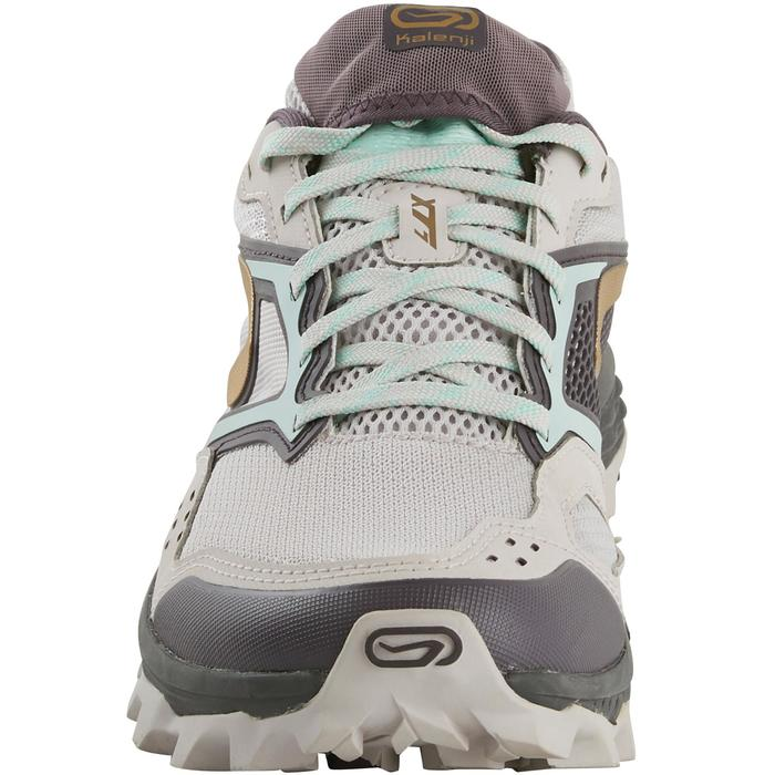 XT7 women's trail running shoes lilac and gold