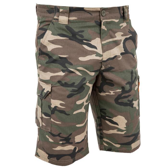 500 Camouflage hunting Bermuda half tone green - 160347