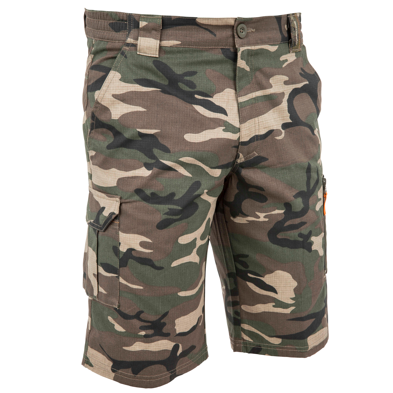 Men's Bermuda Shorts 500 Camo Green