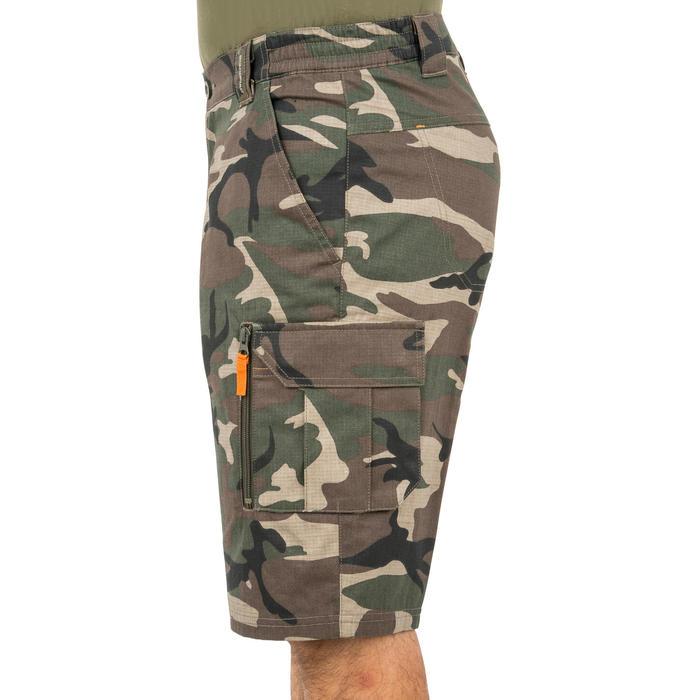 500 Camouflage hunting Bermuda half tone green - 160348