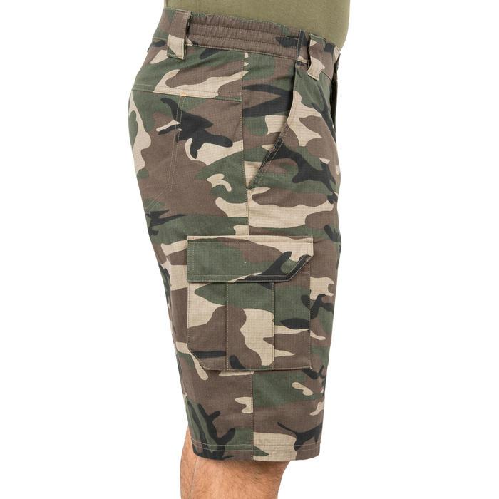 500 Camouflage hunting Bermuda half tone green - 160349
