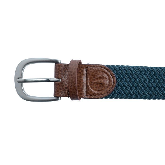 Cinturón de golf extensible adulto azul oscuro talla 2