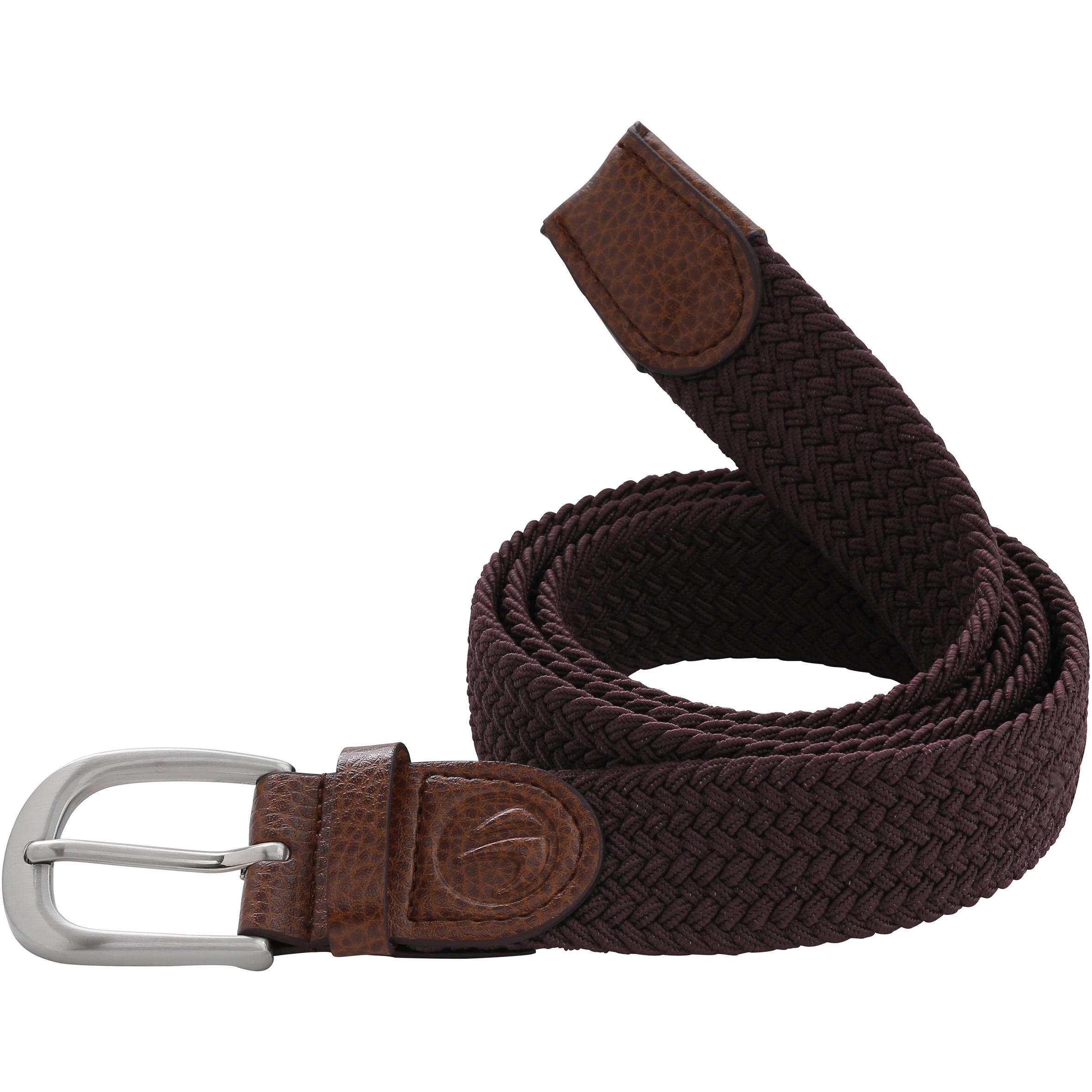 Cinturón de golf extensible adulto burdeos talla 1