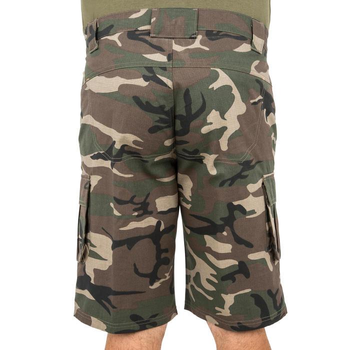 500 Camouflage hunting Bermuda half tone green - 160350