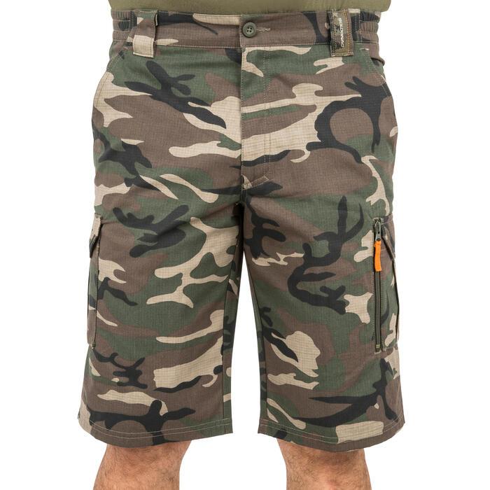 500 Camouflage hunting Bermuda half tone green - 160351