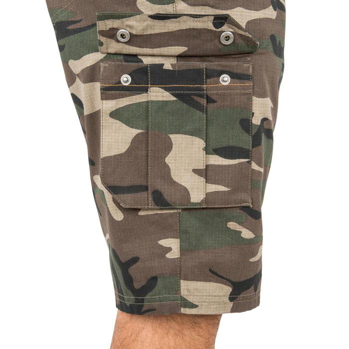 500 Camouflage hunting Bermuda half tone green - 160353