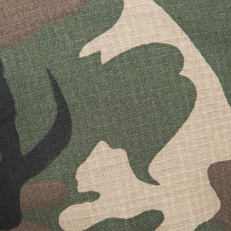 Bermuda 500 camouflage woodland green
