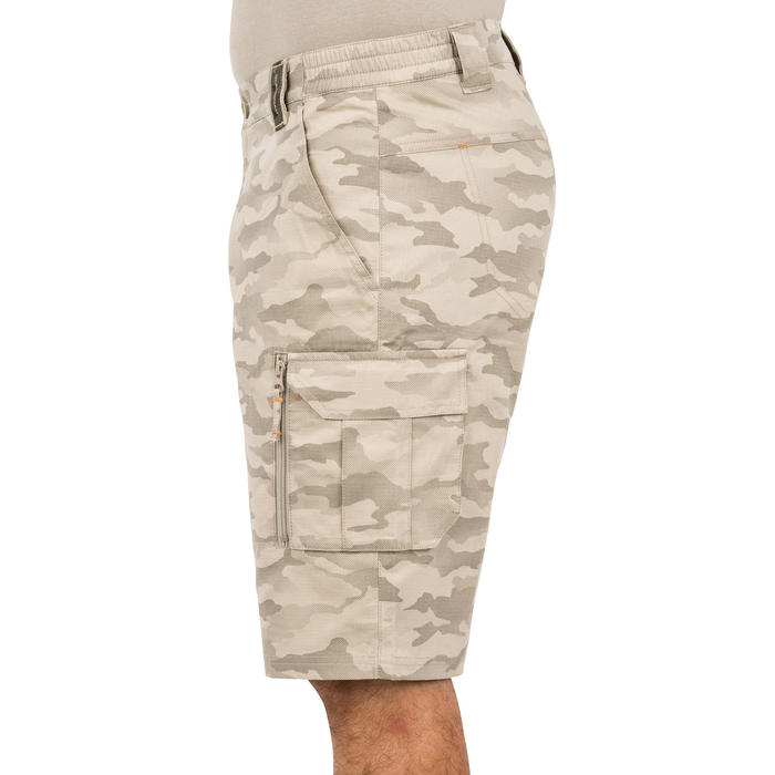 500 Camouflage hunting Bermuda half tone green - 160361